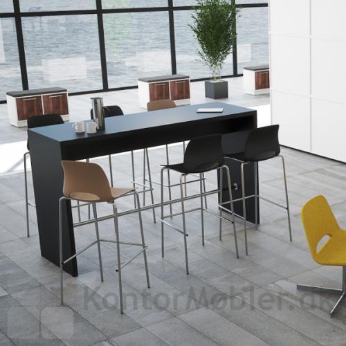 Højbord i sort