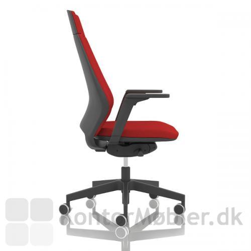Infinity kontorstol med flere indstillings muligheder og synkron vip