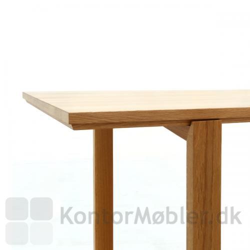 Session mødebord bordben kan placeres længere ind mod bordmidten