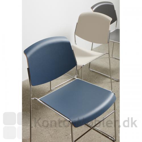 Pause Mede ll mødestol, kan vælges i flere laminat og linoleums farver