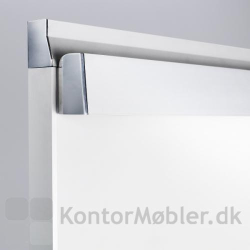 M3 mobil whiteboard med alu ramme