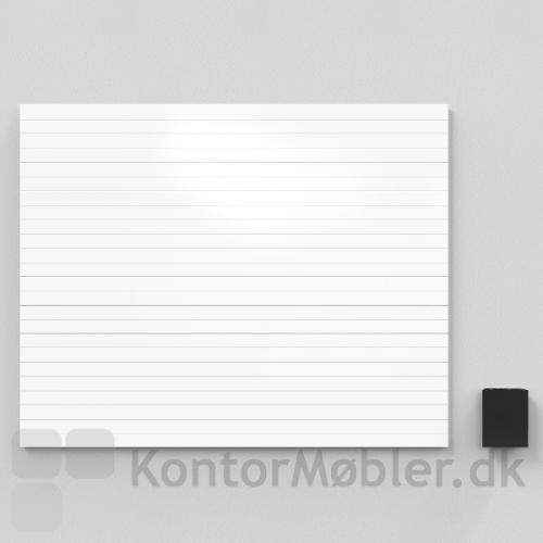 Air Lines whiteboard med diskrete grå linjer