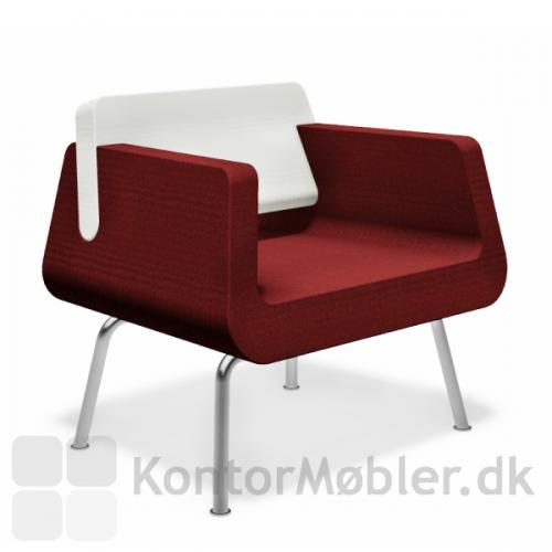 Alfa & Omega stol kan vælges i mange farver
