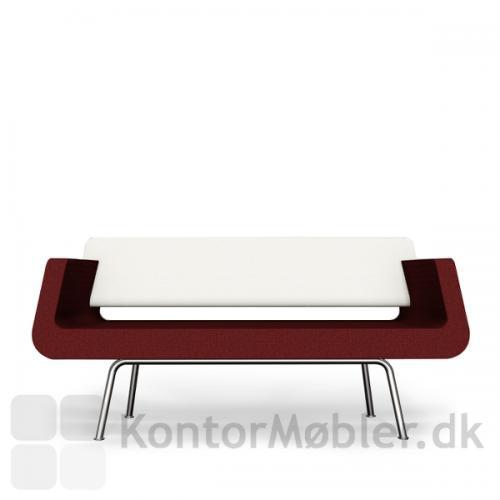Ryggen på Alfa & Omega ryggen kan adskilles fra sædet for nem rengøring