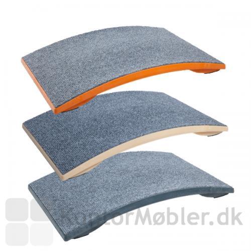 Gymba active board har grå nålefilt på undersiden