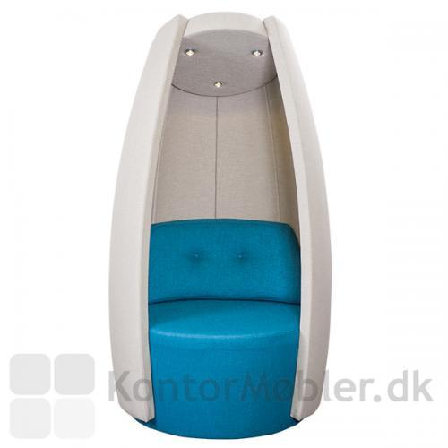 Cocoon med LED-light og sound, har indbyggede højttalere
