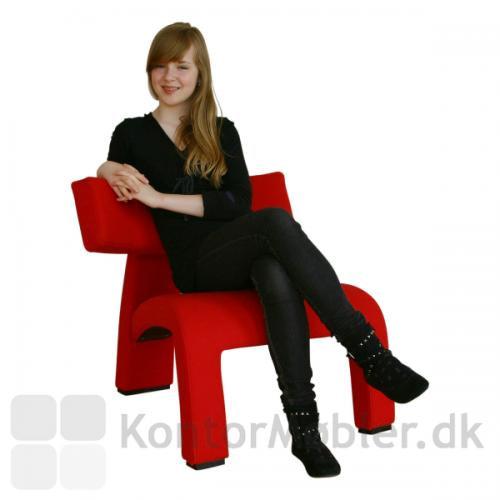 The red devil - tør du sidde på denne stol?