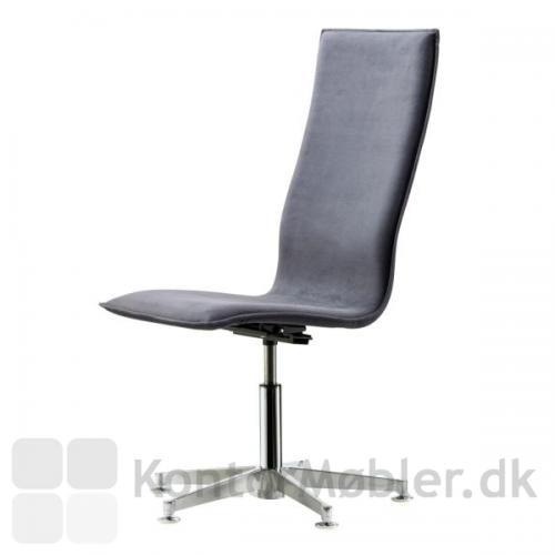 Inferno mødestol med høj ryg