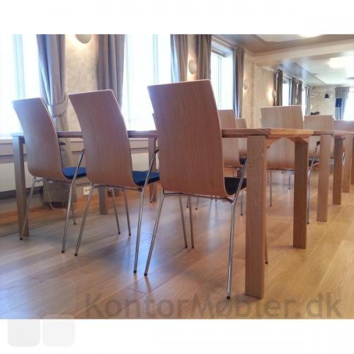 Session mødebord med massive træben
