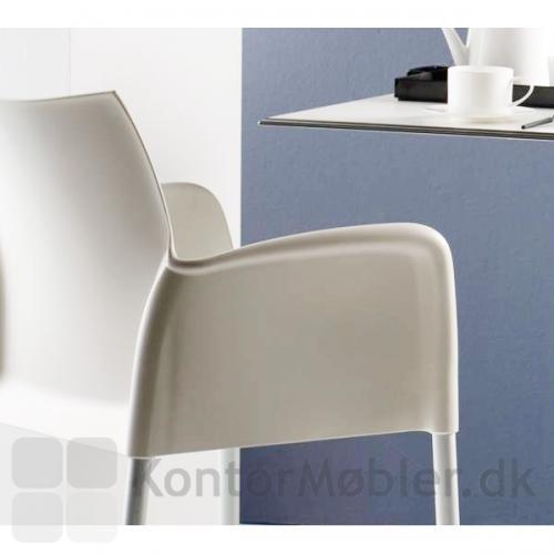 Ice stolen kan anvendes ude og inde