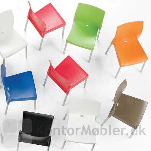 Ice mødestol kan vælges i flere farver