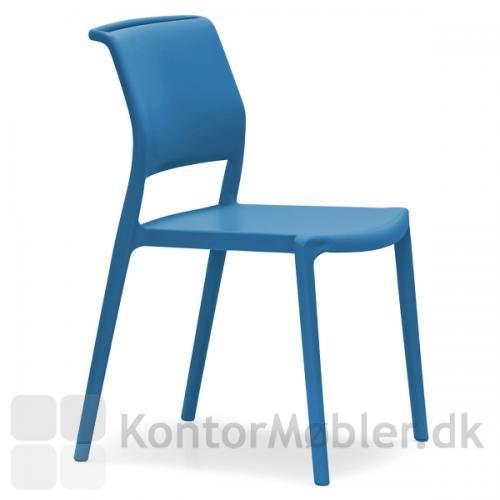 ARA mødestol i blå