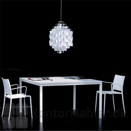 Kuadro bord helt i hvid laminat