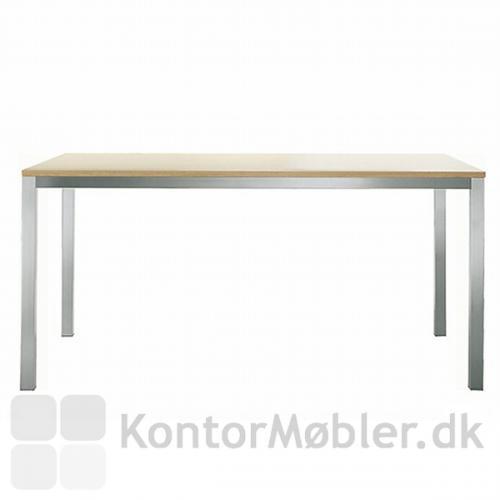 Kuadro bord med bordplade i bleget eg