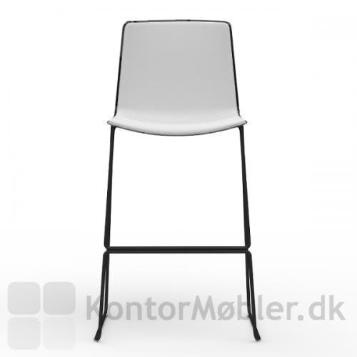 Tweet barstol med meder er 110 cm høj