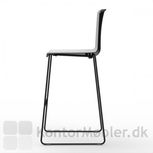 Tweet barstol med mede stel, har et flot design