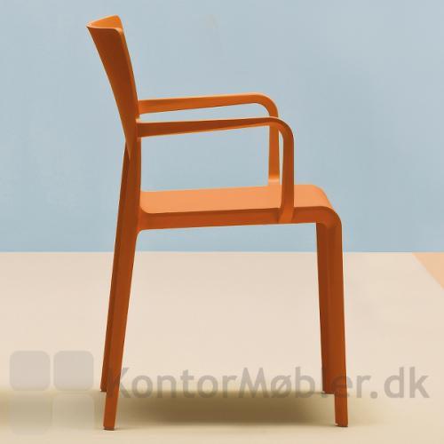 Volt stolen med høj ryg og armlæn, for ekstra god komfort