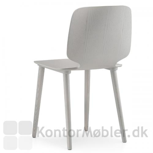 Babila stol i ask - gråbejdset