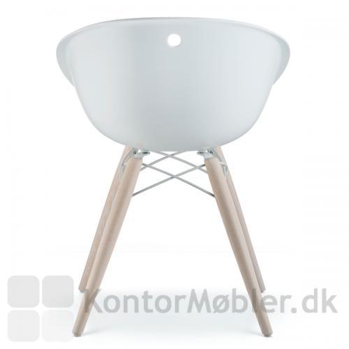 Gliss Wool mødestol er smuk til arbejdspladsen eller hjemmet