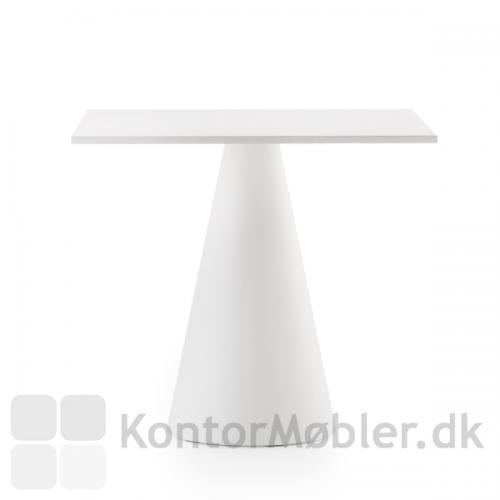 Ikon 865 bordet kan vælges med kvadratisk bordplade