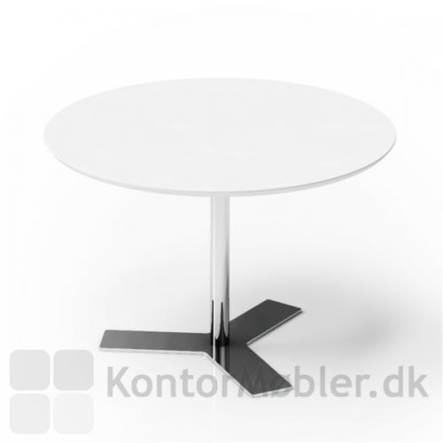 Delta mødebord kan vælges med flere stelfarver - sort, alu, hvid eller krom