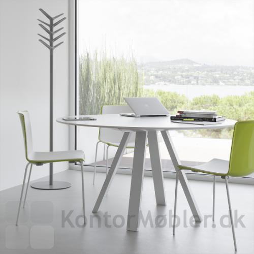 ARK5 mødebord i hvid, matcher godt sammen med Tweet kantinestol