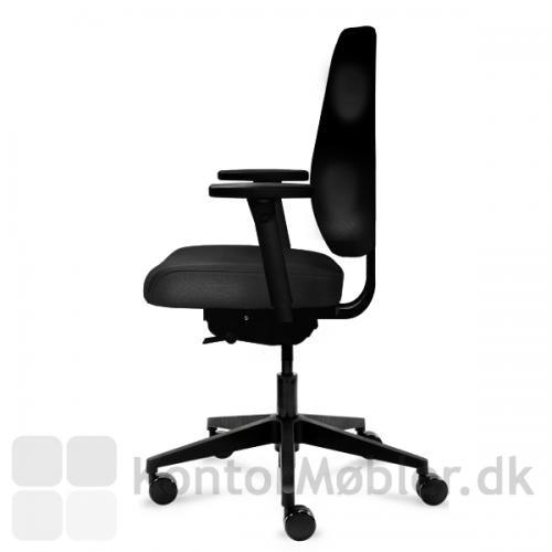 Amanda kontorstol kan vælges med eller uden armlæn