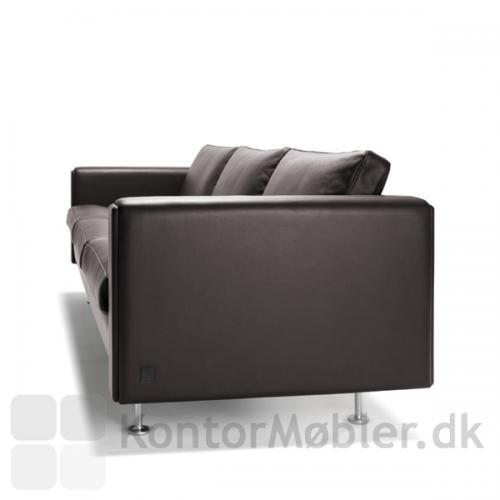 Century 2000 sofa i læder til 3 personer