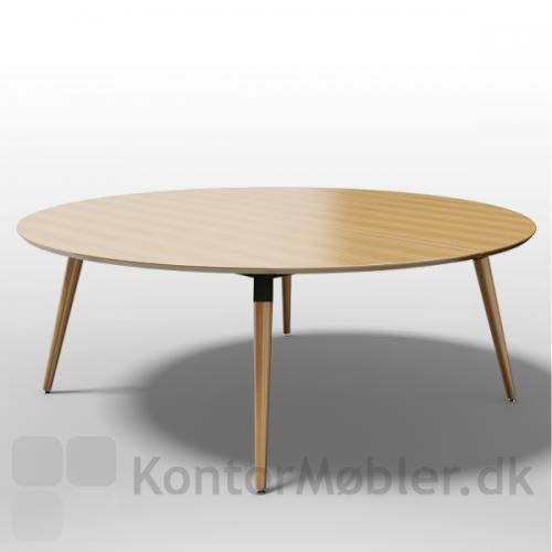 XL Konferencebordet fås også i et rundt format i 3 forskellige størrelser