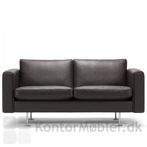 Century 2000 sofa til 2 personer i læder