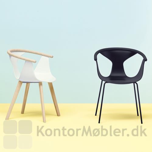 FOX stolen kan vælges med stålben eller træben