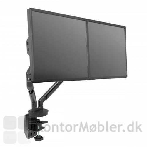 """Monitorarm til to skærme op til 30"""" og 2-9 kg pr arm"""