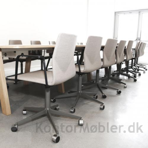 Four Cast´2 Evo mødestol med hjul