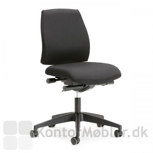 Siff kontorstol er holdbar og med god siddekomfort