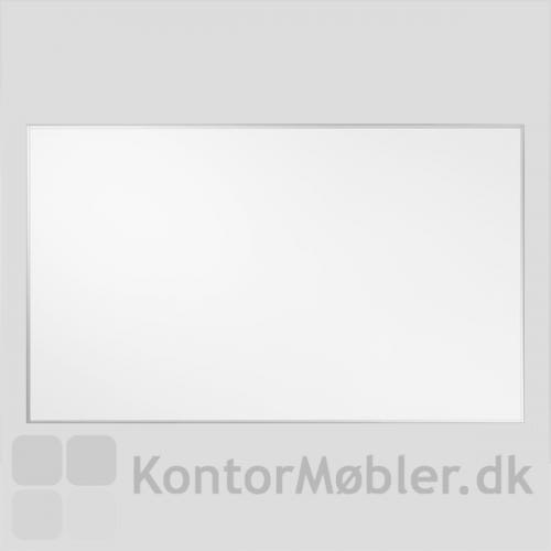 Akustik whiteboard med aluminiumsramme