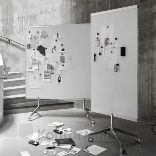 M3 dobbeltsidet whiteboard kan vælges i to størrelser