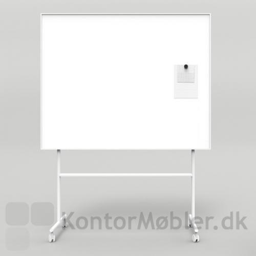 ONE enkeltsidet whiteboard i hvid