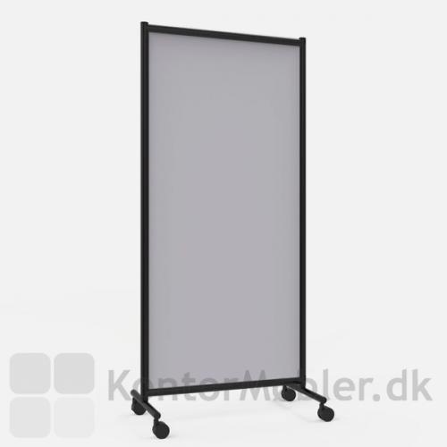 One Screen enkel gulvskærm med lysegrå stof