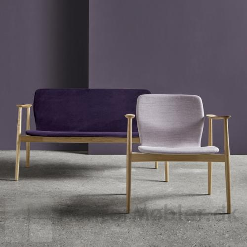 Butterfly Lounge Classic sofa med loungestol i samme serie