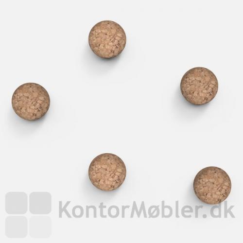 Kraftige magneter i natur kork