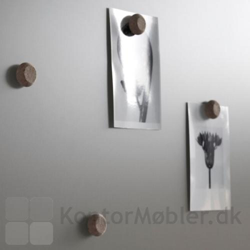 Kork magneter til whiteboard og glastavler