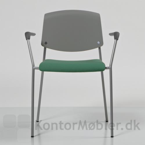 Pause mødestol med sædepolstring