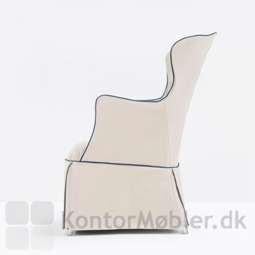 Pasha loungestol med cover, kontakt os for yderligere information