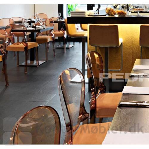 Queen stolen kan også bruges til restauranten