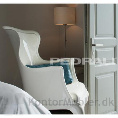 Pasha i hvid til soveværelset eller Hotel værelset