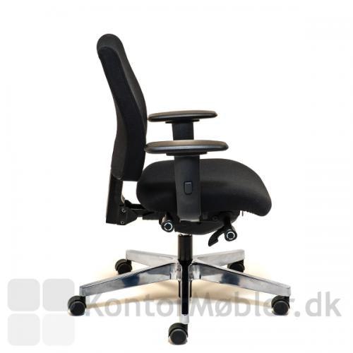 Siff kontorstol kan vælges med 4D armlæn