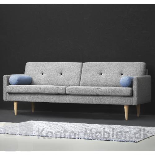 Jive sofa fra Stouby kan vælges i mange farver, se under udvidet information