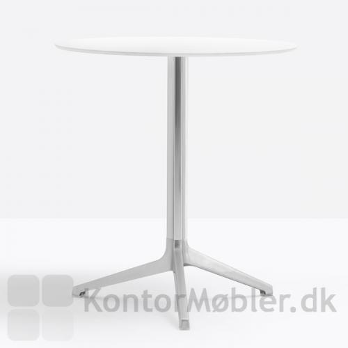 Ypsilon cafébord med anodiseret aluminiums stel