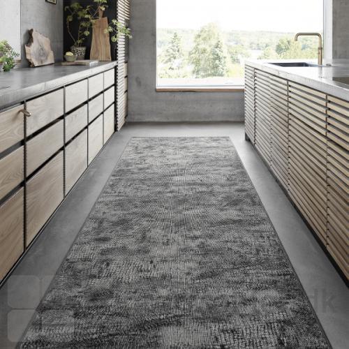 RAW gulvtæppe med flot overlook kant, i rektangulær form