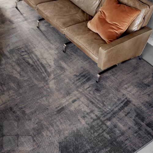 RAW gulvtæppe kan vælges med flere mønstre, vælg et mønster der passer til interiør og indretning